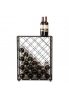 JOY - 32 flasker - Metal - Glastop