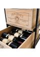 Vinkassereol ROMA - to udtrækshylder