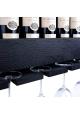 Vinobarto Freja - Sort vinhylde til vin og glas - lille model