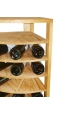 Vinikea Vanesa - 50 flasker - Hjørnereol