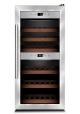 Caso DUO vinkøleskab med kompressions-teknik