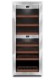 Caso DUO vinkøleskab til 38 flasker