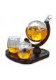 Deluxe Globe Decanter sæt