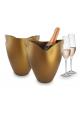 Pulltex - Isspand/Champagnekøler - Guld Akryl