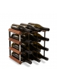 Vino Vita - mørkbejdset fyrretræ - 12 flasker