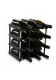 Vino Vita - sortlakeret fyrretræ - 12 flasker