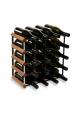Vino Vita - mørkbejdset fyrretræ - 20 flasker
