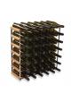 Vino Vita - Mørkbejdset fyrretræ - 42 flasker