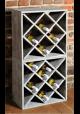 Vinreol til 20 flasker - Vintage grey